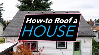 How to Roof a House | DIY Roofing Tips & Tricks (PABCO Roofing Products & Washington Cedar & Supply)