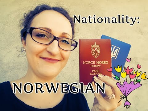 Я получила норвежское гражданство. Ура!