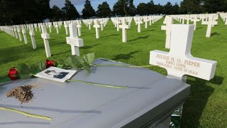 France: American Twin brothers laid to rest 74 years after their deaths