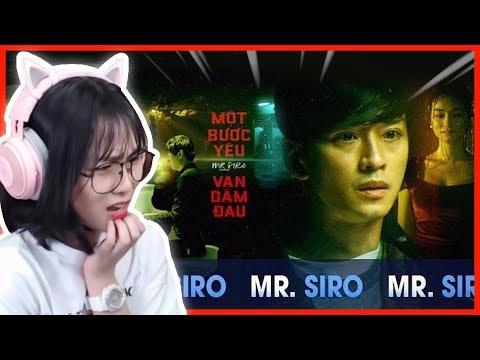 Misthy mém khóc khi xem MV này || MISTHY REACTION MỘT BƯỚC YÊU VẠN DẶM ĐAU - MR. SIRO