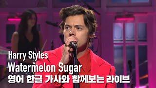 [한글자막라이브] Harry Styles - Watermelon Sugar