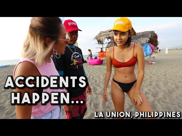 La Union Surf Trip GONE WRONG (Philippines)