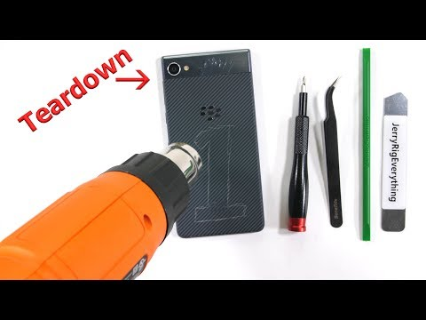 Blackberry Motion Teardown – Do not trust around Water…