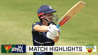 Villani's unbeaten ton helps Vics win top-of-the-table clash | WNCL 2021