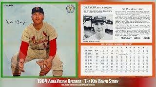 Ken Boyer Interview St Louis Cardinals 1964 AuraVision Records