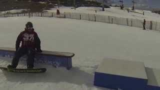 preview picture of video 'snowboard valdelinares-javalambre gopro 3 black'