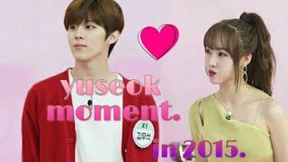 X1gfriend #1  wooseok x1 x yuju gfriend moment 2015
