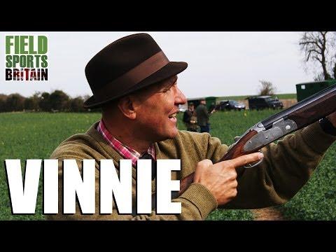 Fieldsports Britain – Vinnie Jones – shooting/hunting legend