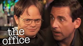 Dwight Interrupts Michael's Date   - The Office US