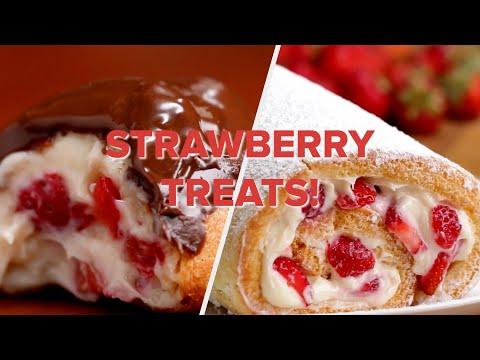 Strawberry Treats For Everyone • Tasty Recipes