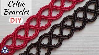 Simple Macrame Celtic Bracelet Tutorial | Celtic Jewelry DIY