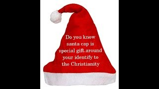 Happiness something if you Give Santa cap gifts 1500 child Christmas / hindi / Jesus healing power