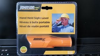 Hand Held Sight Level