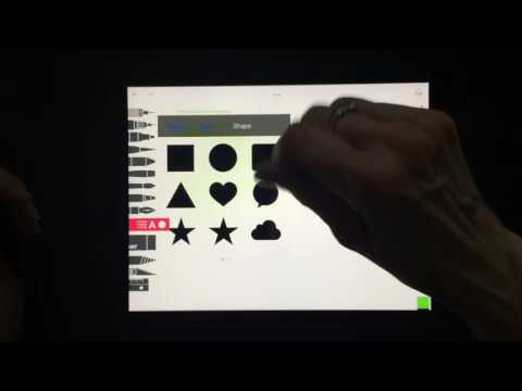 Quick-Start-video-for-Tayasui-Sketches-Pro-app-on-iOS