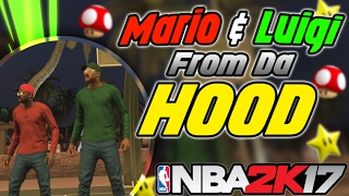 Super Mario Bros From the Hood At MyPark NBA 2K17
