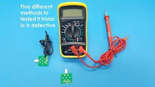How To Tested If Tristar Is Defective Using Different Methods