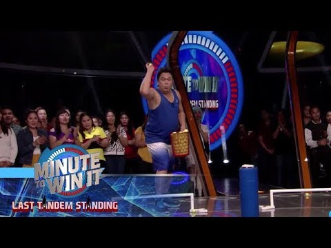 Super Chip | Minute To Win It - Last Tandem Standing