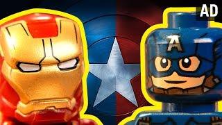 Marvel: Civil War As Told By LEGO | Disney
