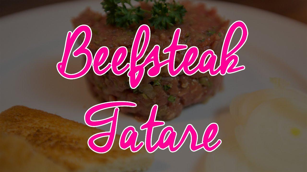 Beefsteak Tatare / Tatar / Rohes Rindfleisch
