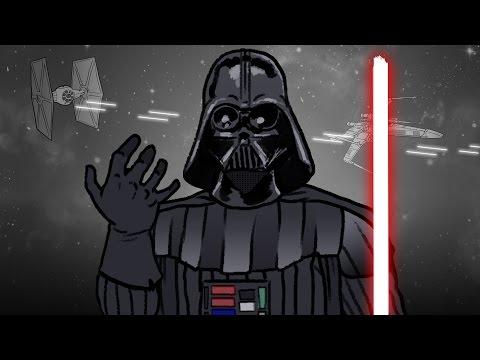 Hvězdné války ve třech minutách