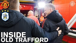 Inside Old Trafford | Man Utd 3-1 Huddersfield | Tunnel Cam, Behind the Scenes, Legends & More!