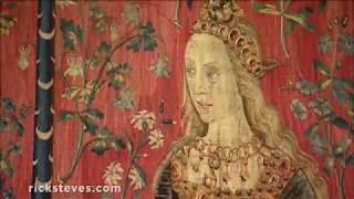Thumbnail of the video 'Paris' Cluny Museum: The Unicorn Tapestries '