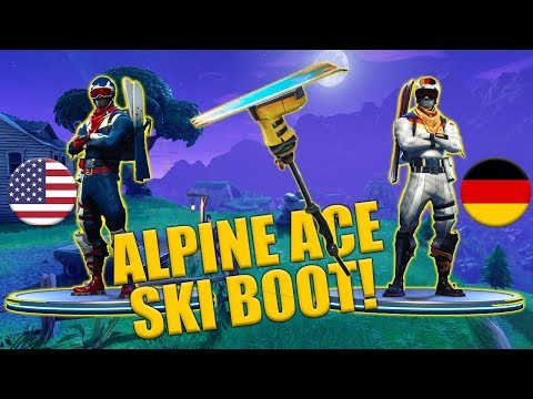 Alpine Ace – USA – GER – Ski Boot Harvesting Tool – Fortnite