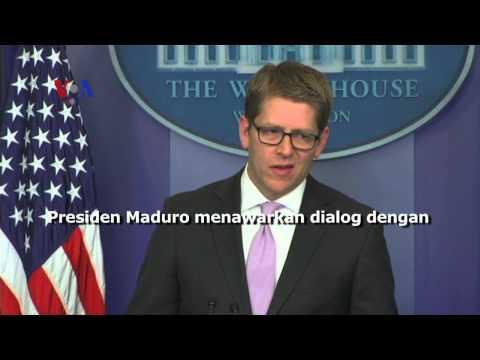 Tuduhan Intervensi AS terhadap Krisis Venezuela - Liputan Berita VOA 27 Februari 2014