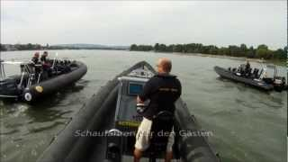 preview picture of video '4 Extrem Rib Boote in Mainz in Action'