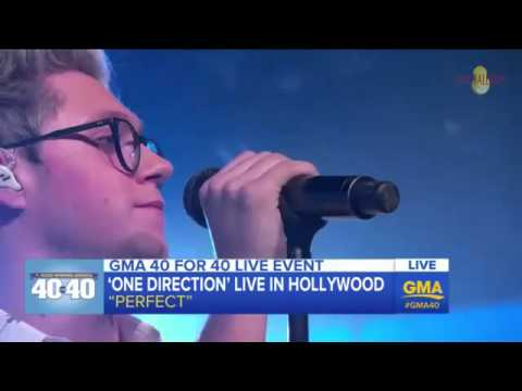 One Direction - Perfect (live at GMA) (видео)