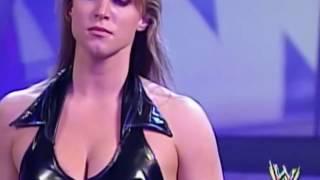 WWE Brock Lesnar vs Stephanie McMahon   Brock nearly strangled Stephanie