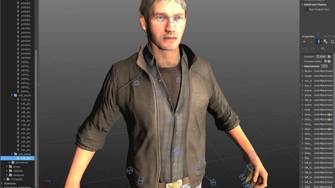 Ajout d'un personnage CryEngine 5