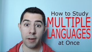 How To Study Multiple Languages At Once!