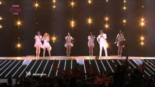 Azerbaijan : Eurovision Song Contest Semi Final 2011 - BBC Three