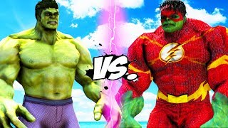 THE HULK VS FLASH - HULK