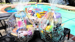 EASTER BASKETS FOR TEENAGE GIRLS AND 4 YEAR OLD BOY / ULTA DOLLAR TREE MARSHALLS TJMAXX