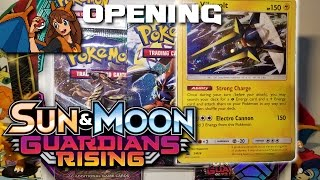 IT'S A GX PARTY - Opening a Pokemon Card Vikavolt Guardians Rising Blister Pack by Flammable Lizard
