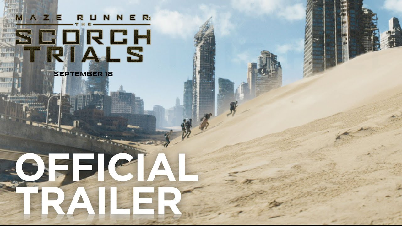 Movie Trailer: Maze Runner: The Scorch Trials (2015)