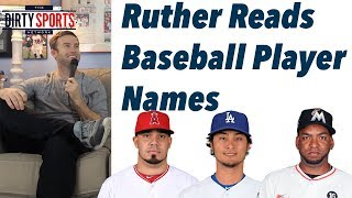 Ruther Reads Baseball Player Names
