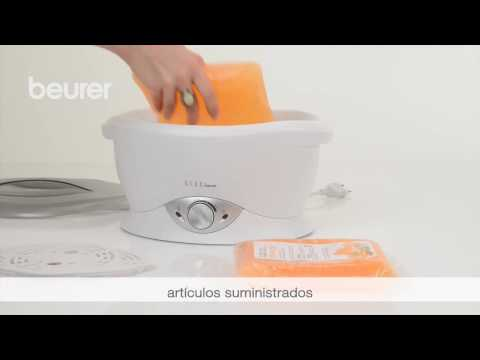 Manual de uso del baño de parafina Beurer MPE 70