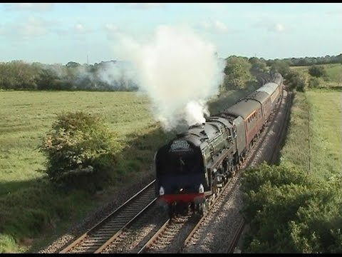 71000 'Duke of Gloucester' with Steamy Affairs 'The Welsh Ma…