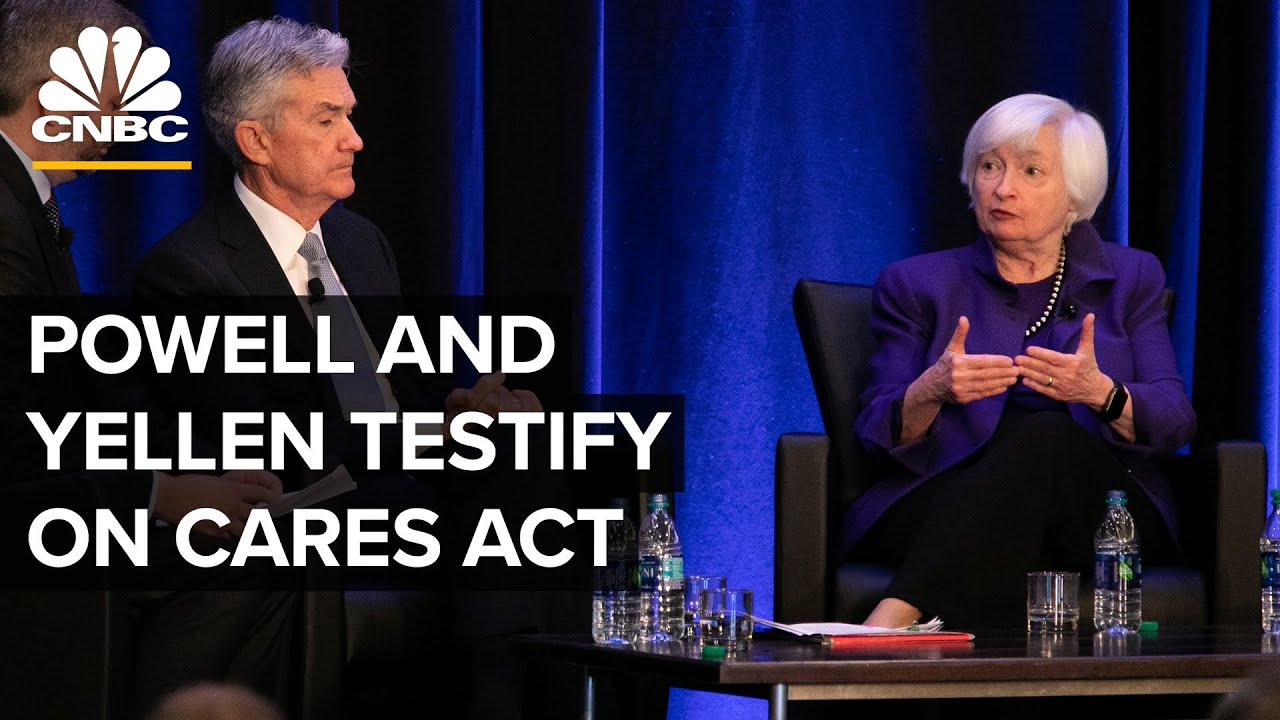 Fed Chair Powell and Treasury Secretary Yellen affirm prior to Congress on CARES Act-- 9/28/21 thumbnail