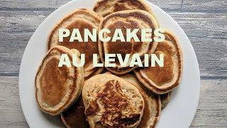 Pancakes... au levain!