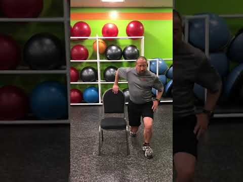Standing Chair Workout 01