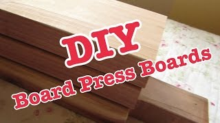 DIY Board Press Boards For Bench Press