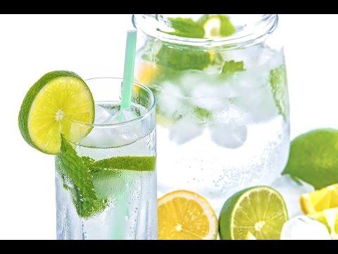 Bebidas hidratantes caseras