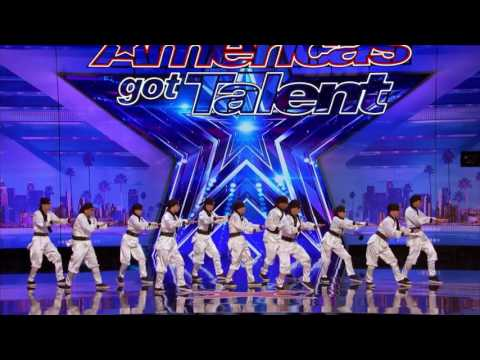 Just Jerk: Dance Group Possible Last Performance - America's Got Talent 2017 (видео)