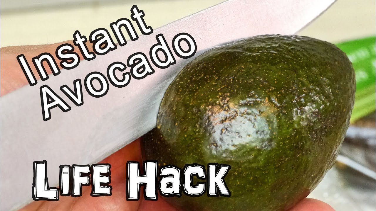 Instantly Ripe Avocado - Life Hack thumbnail