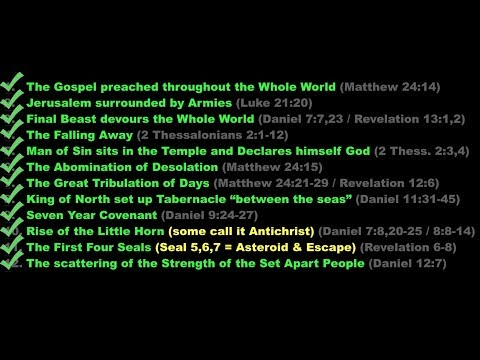 , title : '12 Fulfillments Prove Rapture CAN Occur NOW!