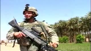 Iraq War   Soldiers Patrol In Ramadi